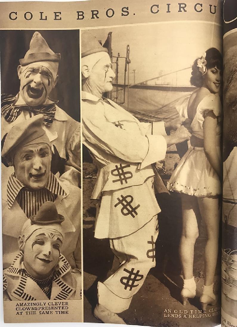 2pcs Antique Circus Programs RINGLING BROS & BARNUM & - 6