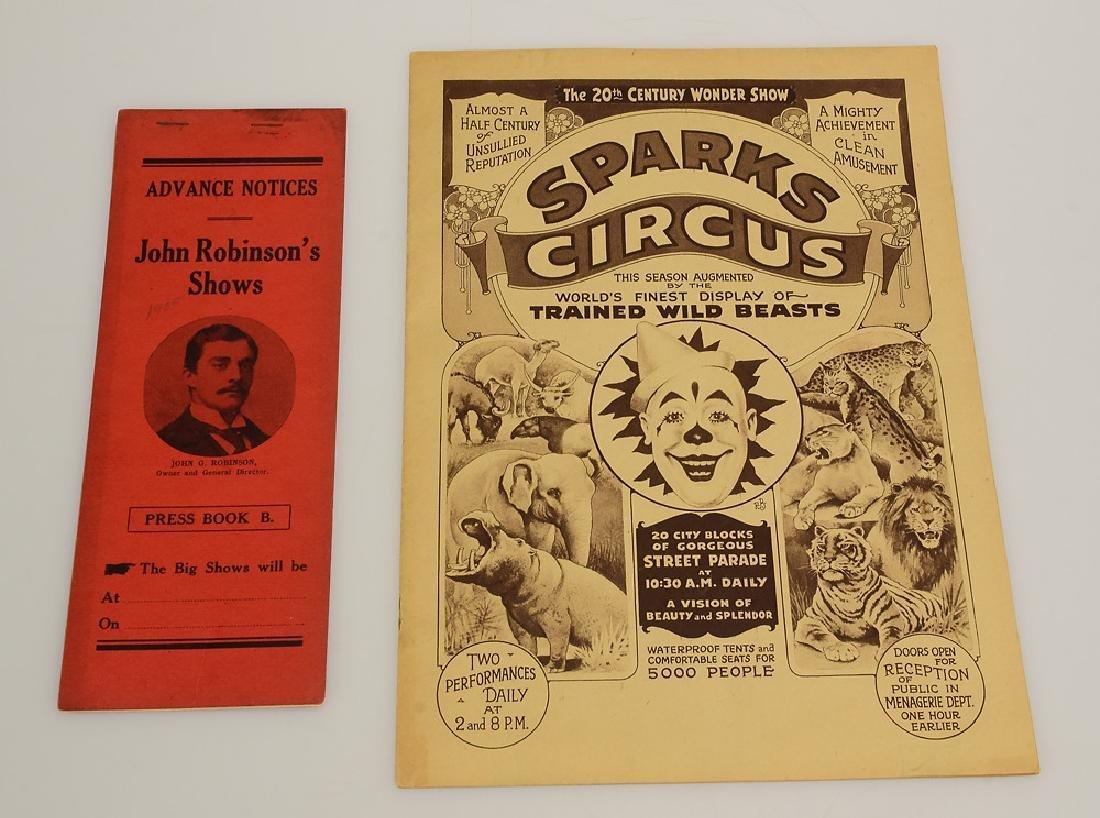 4pcs Collectible Circus Ephemera VINTAGE & ANTIQUE - 4