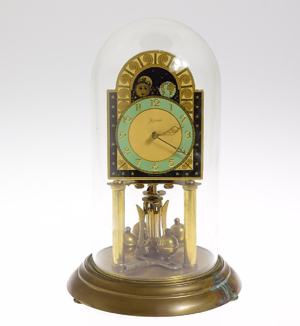 Rare Torsion Clock 400-DAY ANNIVERSARY CLOCK JOHN