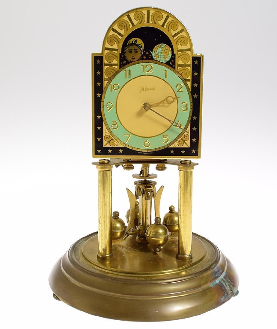 Rare Torsion Clock 400-DAY ANNIVERSARY CLOCK JOHN - 2