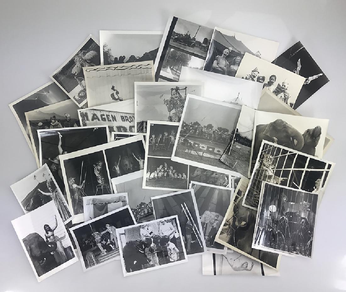 41pcs Vintage & Antique CIRCUS PRESS PHOTOGRAPHS &