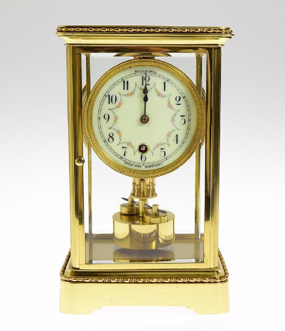 Antique Anniversary Clock BOWLER & BURDICK 400-DAY