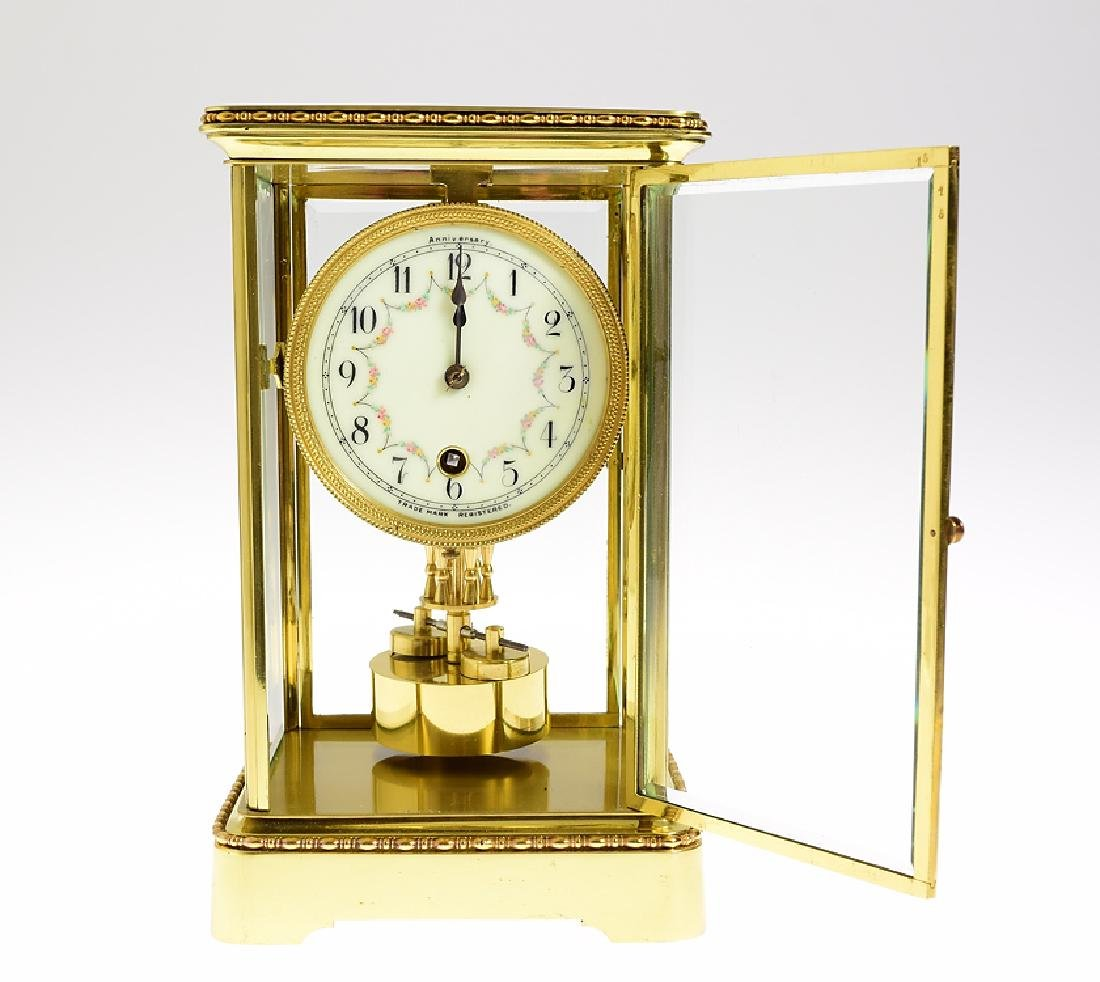 Antique Anniversary Clock BOWLER & BURDICK 400-DAY - 2