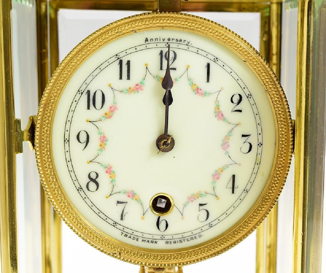 Antique Anniversary Clock BOWLER & BURDICK 400-DAY - 3