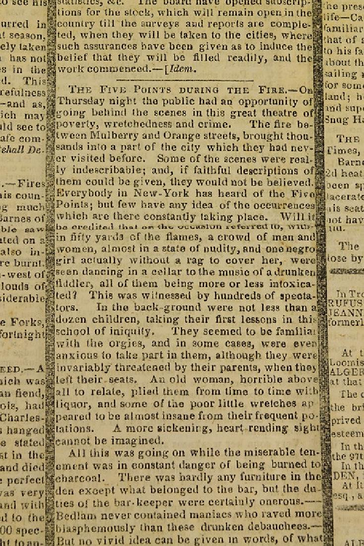 6pcs New York London ANTIQUE NEWSPAPERS 1775-1845 York - 8