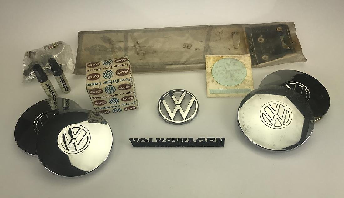 12pcs Vintage Car Parts VOLKSWAGEN RABBIT & RABBIT
