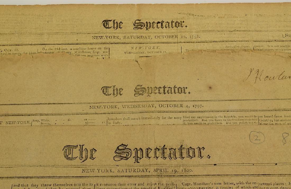 3pcs Antique Collectible Americana THE SPECTATOR - 2