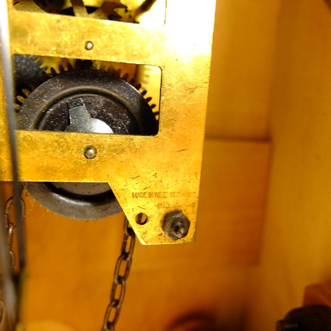 Black Forest Clock VINTAGE CUCKOO CLOCK MUSIC BOX WATER - 5