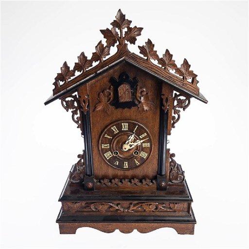 Antique Cuckoo Clock Ghs Black Forest