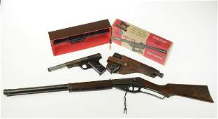 4Pcs Daisy Mfg Co VINTAGE BB GUNS RED RYDER PISTOLS