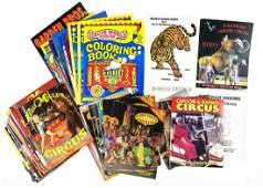 78Pcs Vintage  Modern Circus Memorabilia COLLECTIBLE