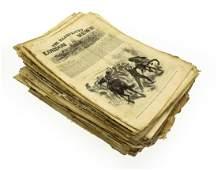 Antique Newspaper Ephemera THE ILLUSTRATED LONDON NEWS