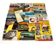 26Pcs Vintage  Modern CAR MAGAZINES GUIDES  MANUALS