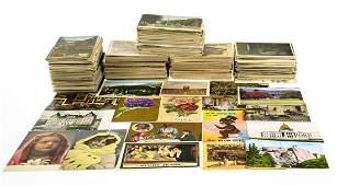 100+Pcs Souvenir Travel and Holiday Christmas Postcards