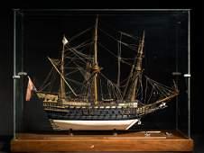 HMS Sovereign of the Sea 1637 HANDMADE MAN-OF-WAR MODEL