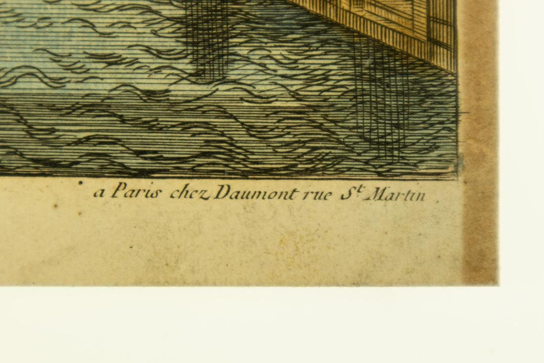 Basset Huquier HAND-COLORED ENGRAVING ST. JEAN ST. PAUL - 6