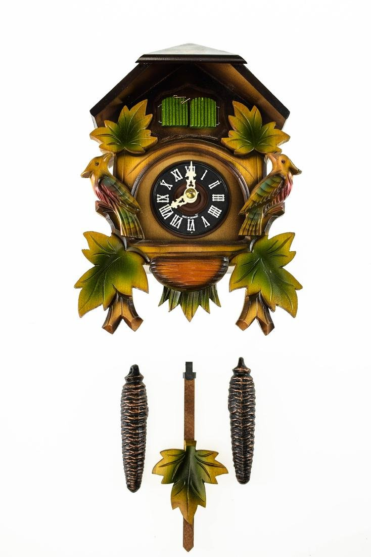 Scarce Cuckoo Clock EXCELLENT CONDITION VINTAGE HUBERT