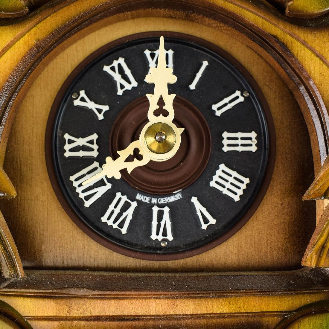 Scarce Cuckoo Clock EXCELLENT CONDITION VINTAGE HUBERT - 2