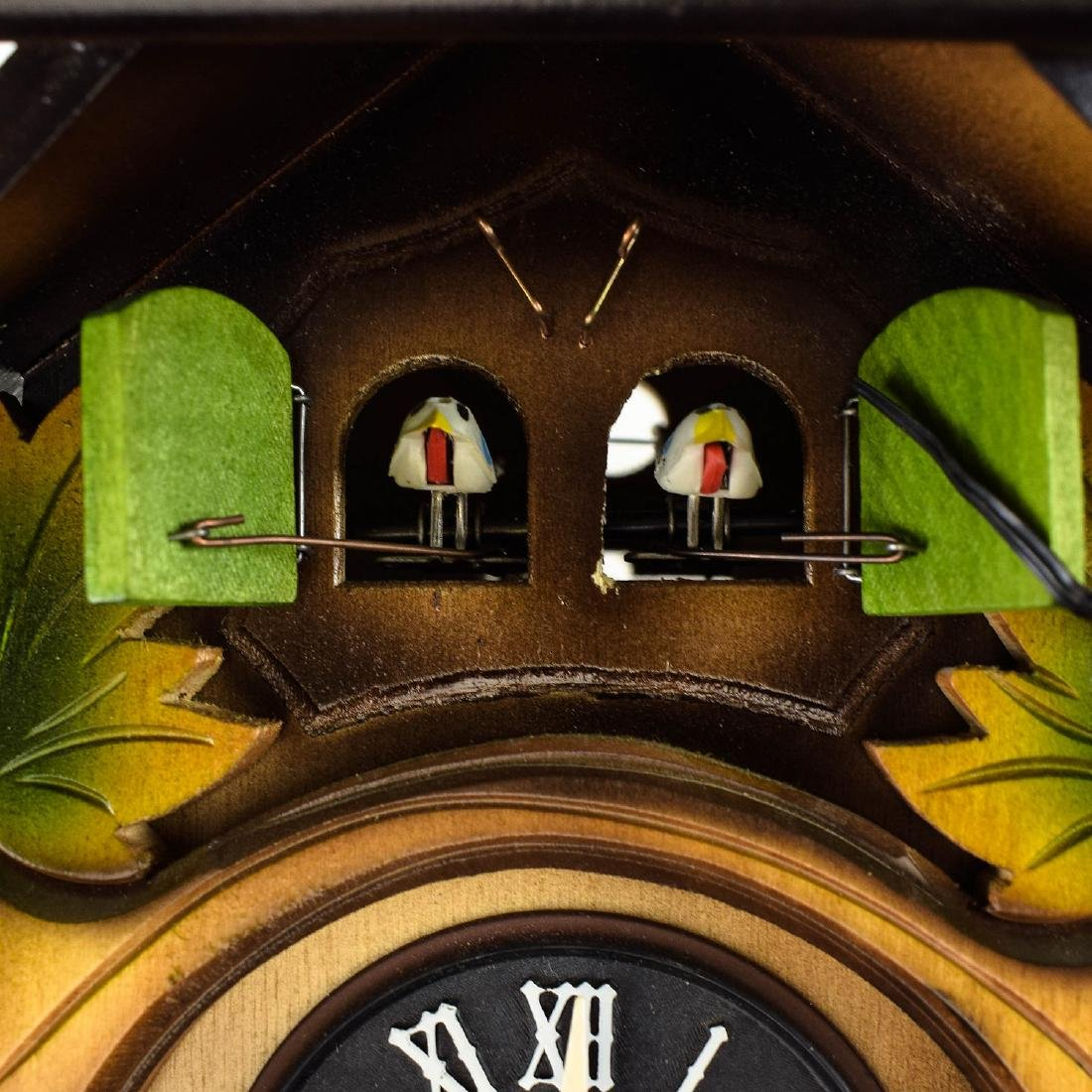 Scarce Cuckoo Clock EXCELLENT CONDITION VINTAGE HUBERT - 3