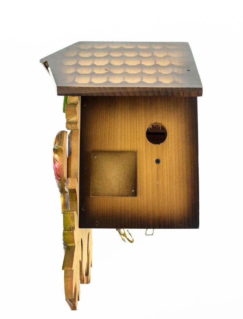 Scarce Cuckoo Clock EXCELLENT CONDITION VINTAGE HUBERT - 4