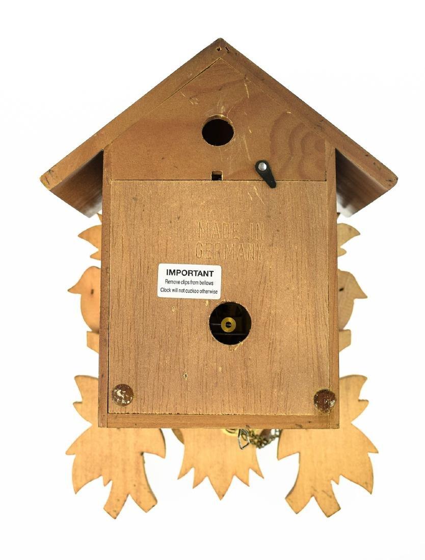 Scarce Cuckoo Clock EXCELLENT CONDITION VINTAGE HUBERT - 5
