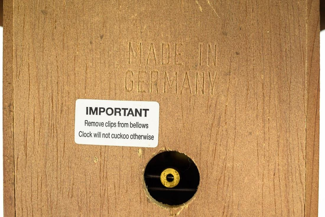 Scarce Cuckoo Clock EXCELLENT CONDITION VINTAGE HUBERT - 6