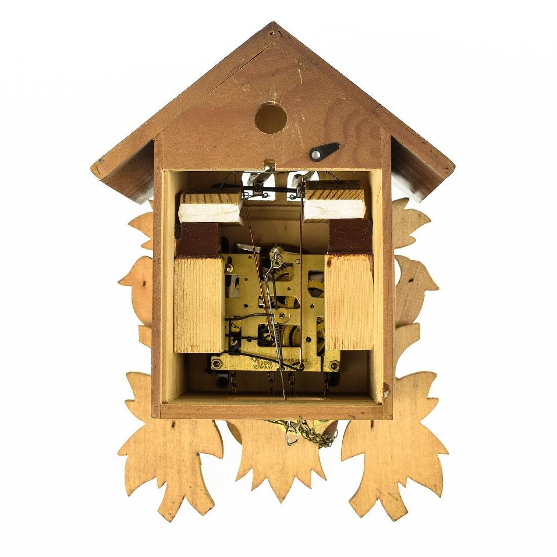 Scarce Cuckoo Clock EXCELLENT CONDITION VINTAGE HUBERT - 8
