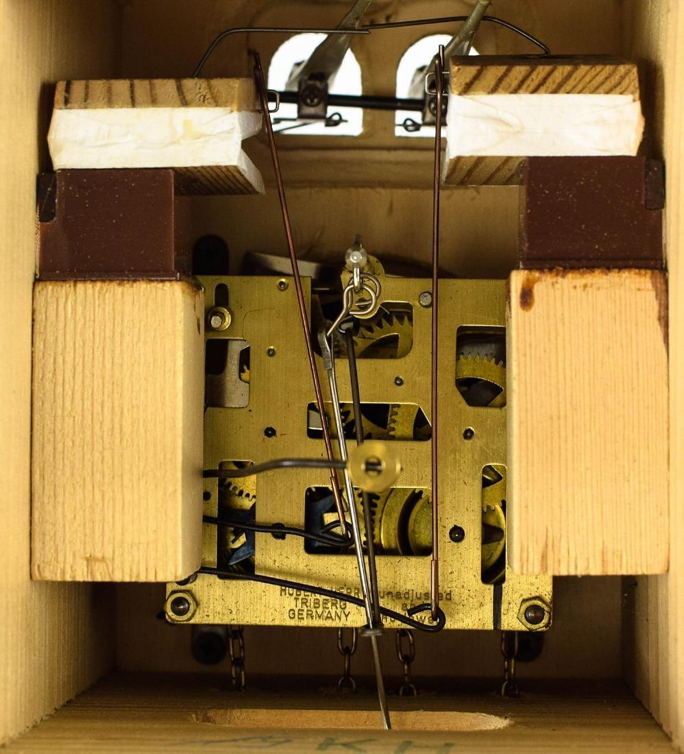 Scarce Cuckoo Clock EXCELLENT CONDITION VINTAGE HUBERT - 9
