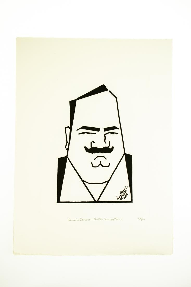 Tom Darby CARICATURES BY ENRICO CARUSO 1982 Ltd Edition - 5