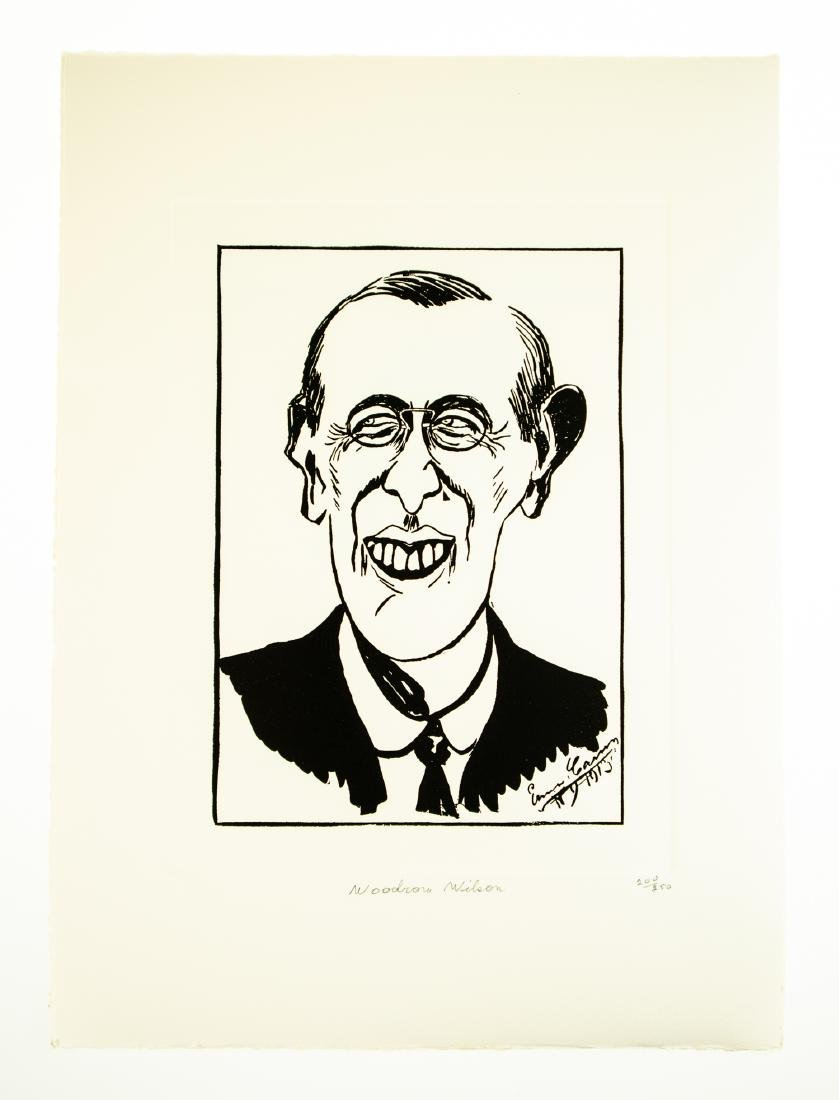 Tom Darby CARICATURES BY ENRICO CARUSO 1982 Ltd Edition - 7