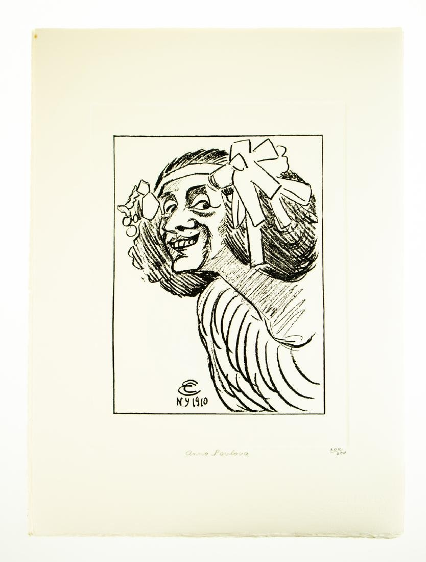 Tom Darby CARICATURES BY ENRICO CARUSO 1982 Ltd Edition - 9