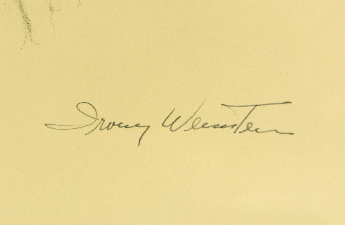 Irving Weinstein RABBI PORTRAIT c1960 Hand-Colored - 2