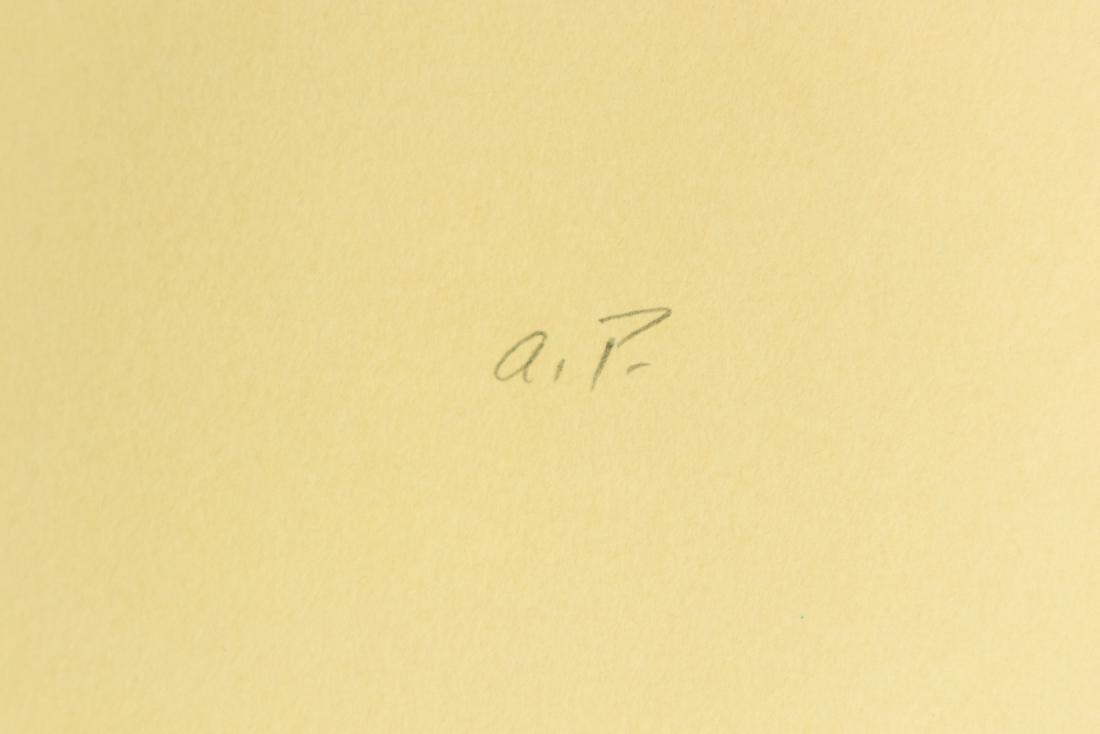 Irving Weinstein RABBI PORTRAIT c1960 Hand-Colored - 3