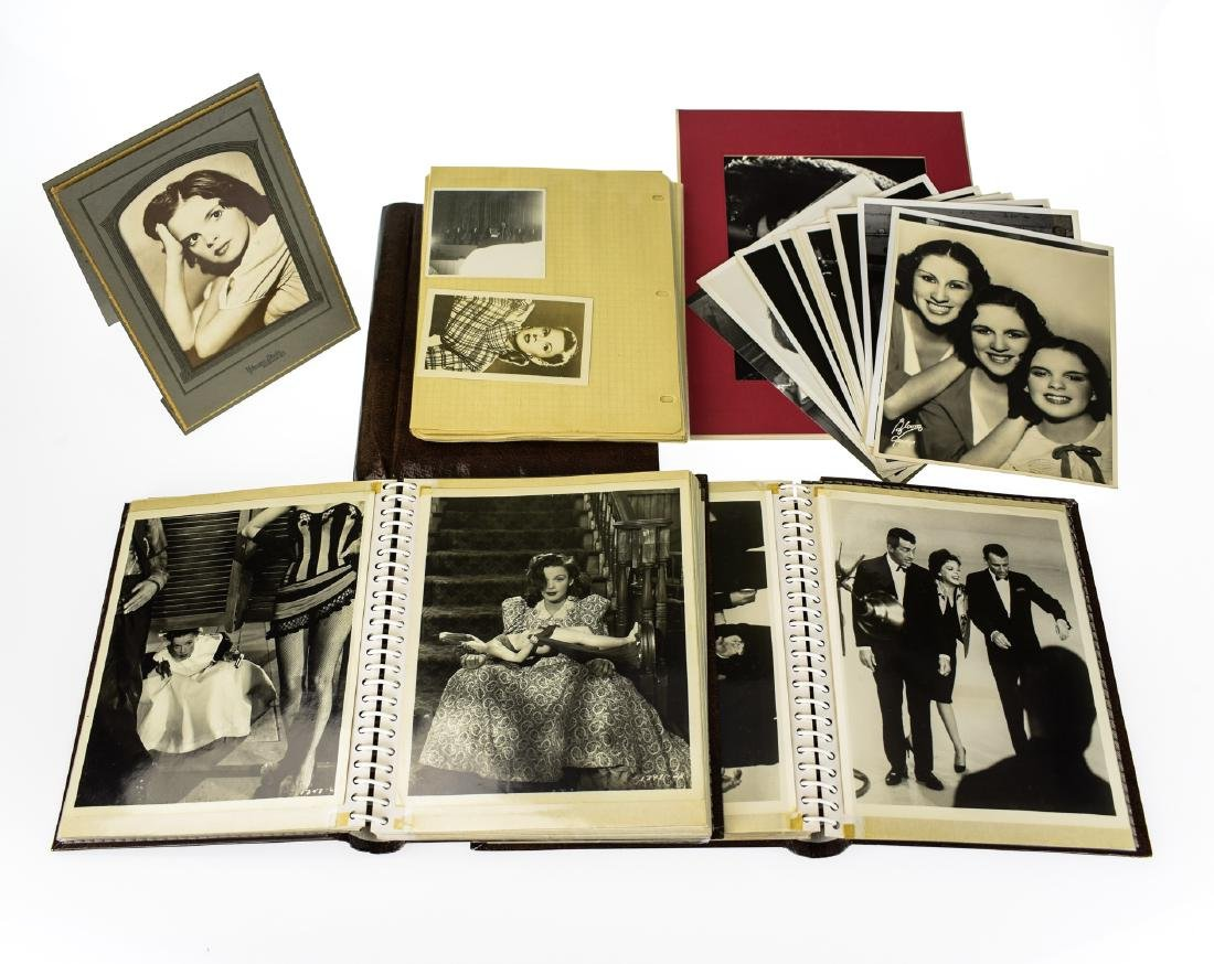 Original Candid VINTAGE JUDY GARLAND PHOTOGRAPHS Movie