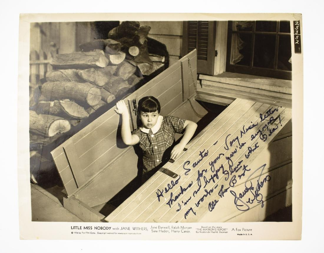 Signed Hollywood AUTOGRAPHED PHOTOS LOOSE AUTOGRAPHS & - 3