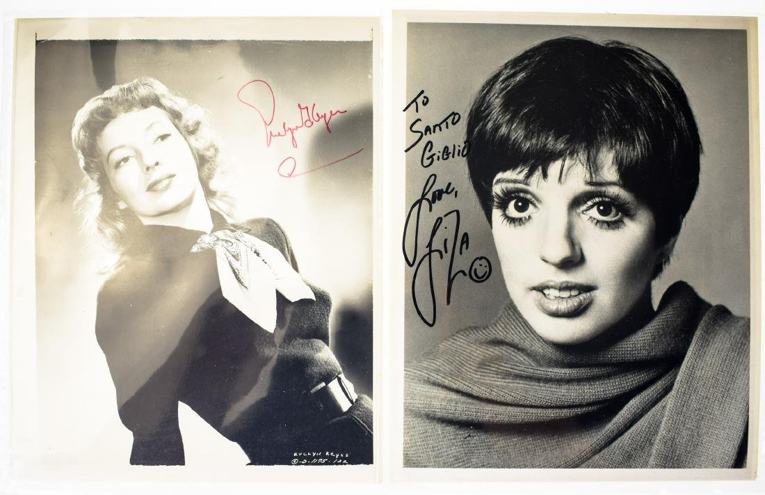 Signed Hollywood AUTOGRAPHED PHOTOS LOOSE AUTOGRAPHS & - 5