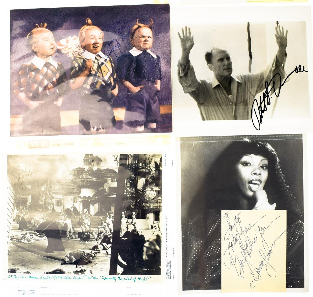 Signed Hollywood AUTOGRAPHED PHOTOS LOOSE AUTOGRAPHS & - 6
