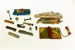 Large Collection VINTAGE & ANTIQUE TOYS Sterling Silver
