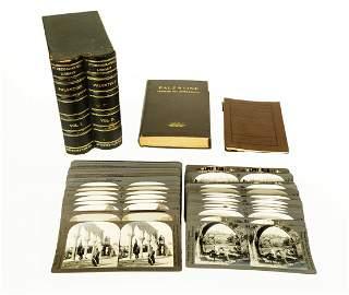 Hurlbut & Kent PALESTINE THROUGH THE STEREOSCOPE 1914