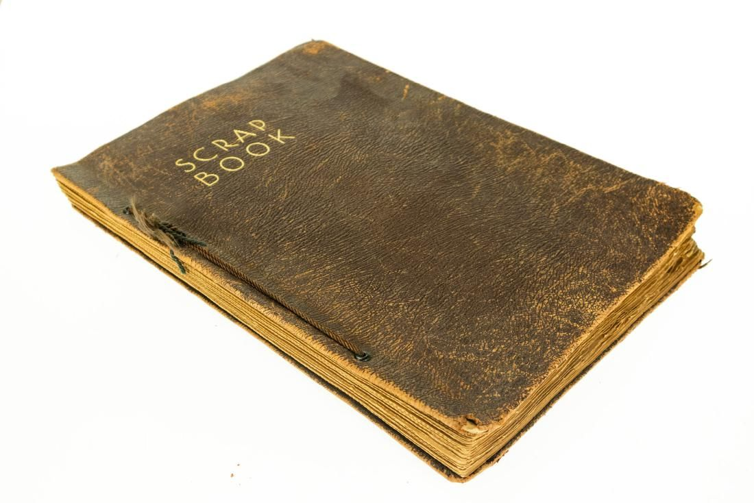 Navy Photo Album WWI SAILORS PERSONAL SCRAP BOOK