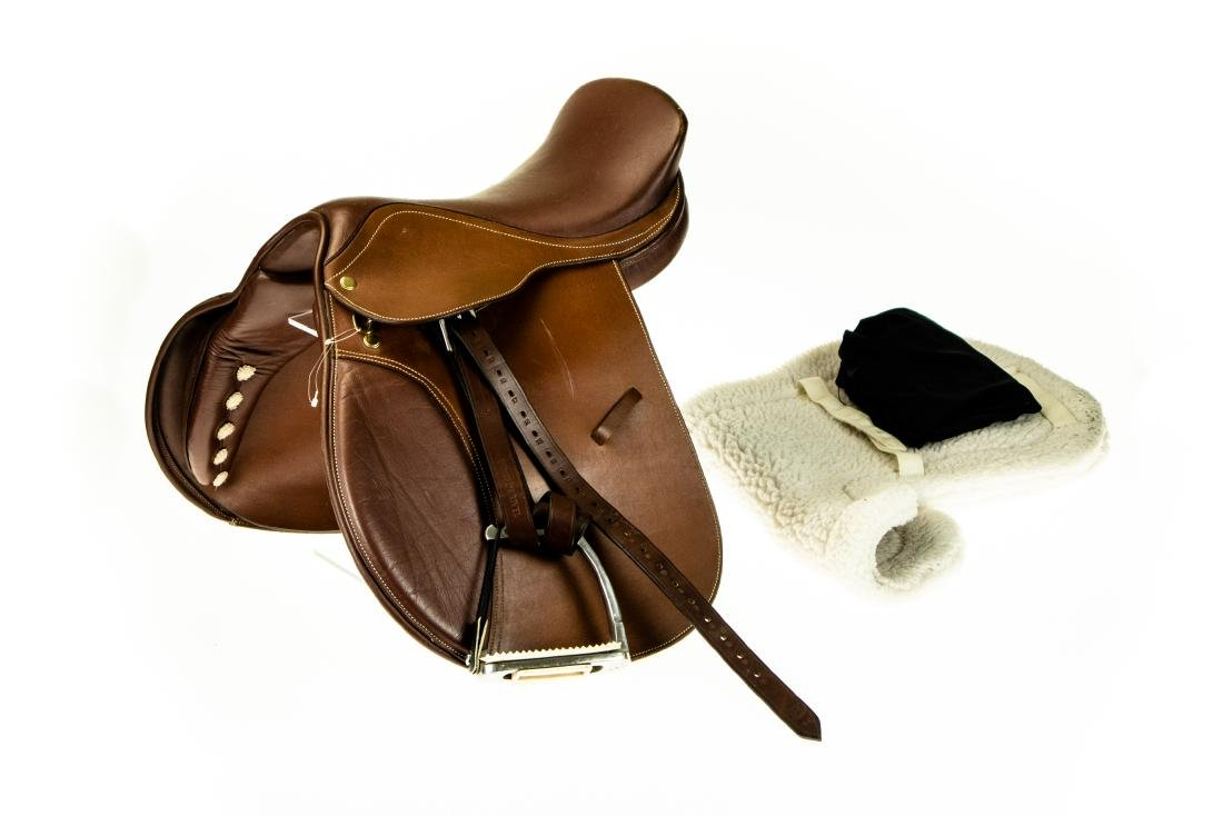 "Leather Armaugh NEW 16"" THORNHILL DRESSAGE SADDLE"