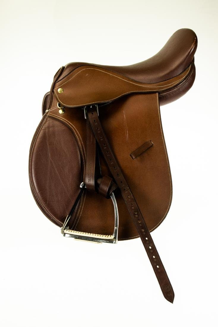 "Leather Armaugh NEW 16"" THORNHILL DRESSAGE SADDLE - 2"