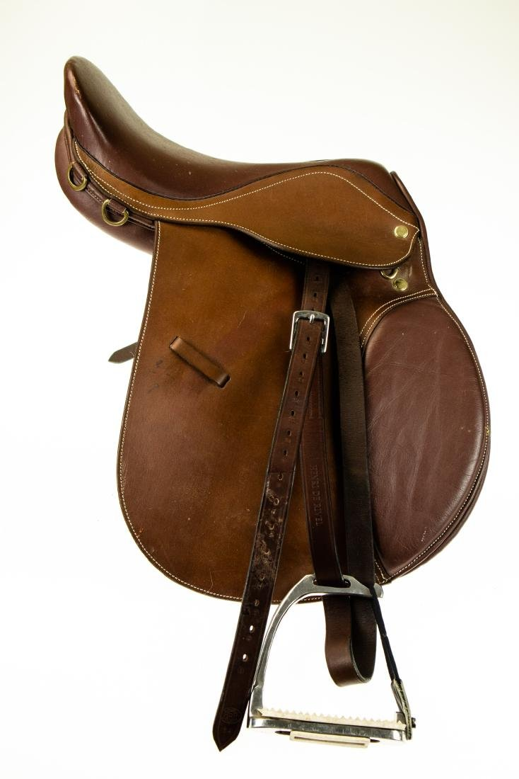"Leather Armaugh NEW 16"" THORNHILL DRESSAGE SADDLE - 9"