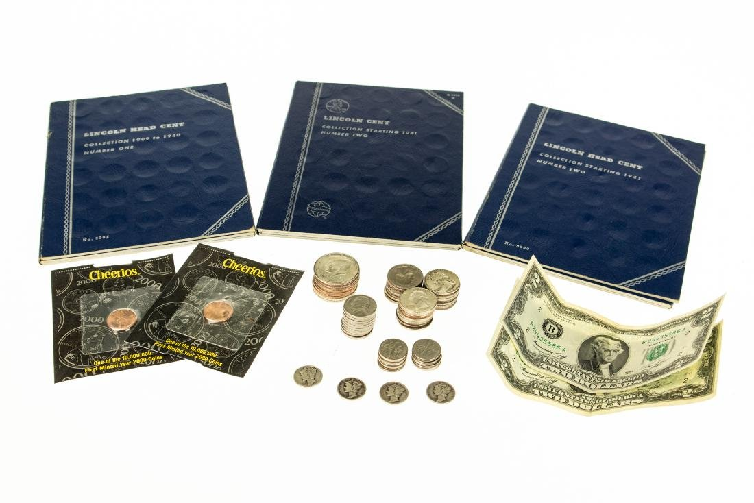 72Pcs Silver Certificate ANTIQUE COINS AND CURRENCY