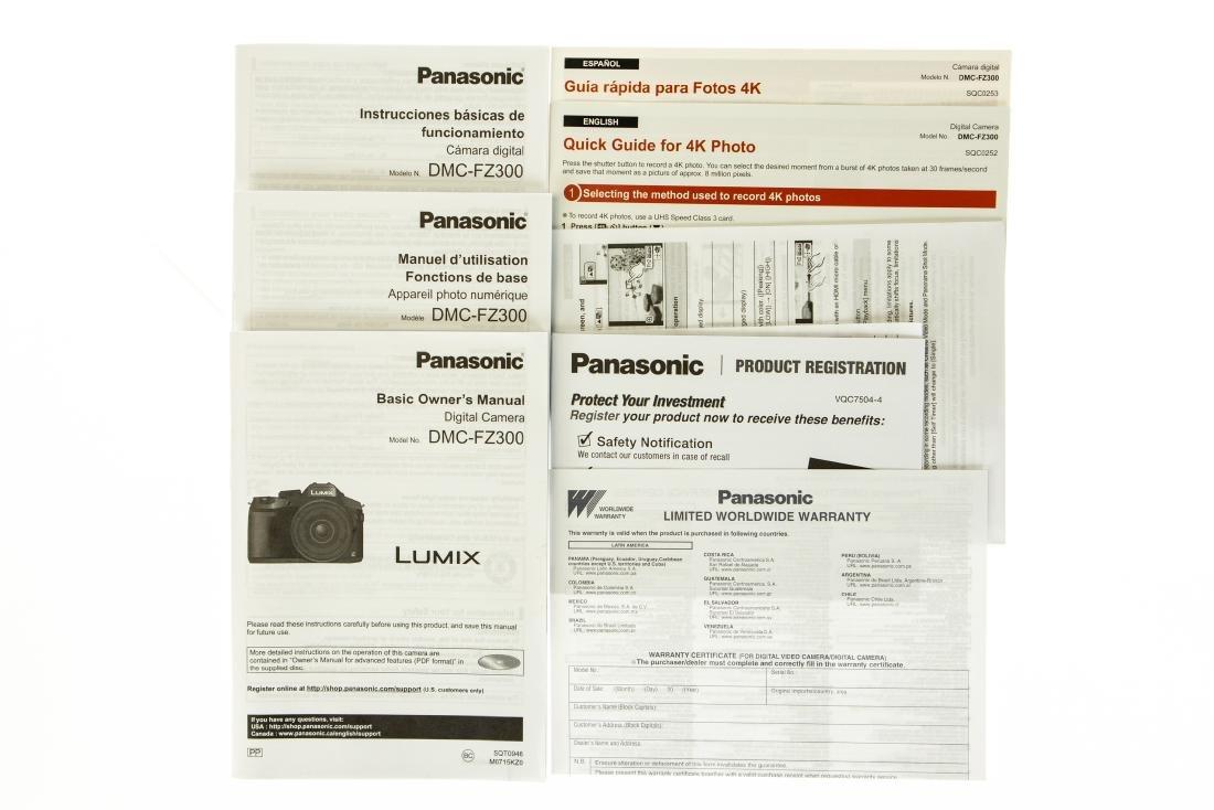 24x Leica Lens PANASONIC LUMIX DMC-FZ300 DIGITAL CAMERA - 3
