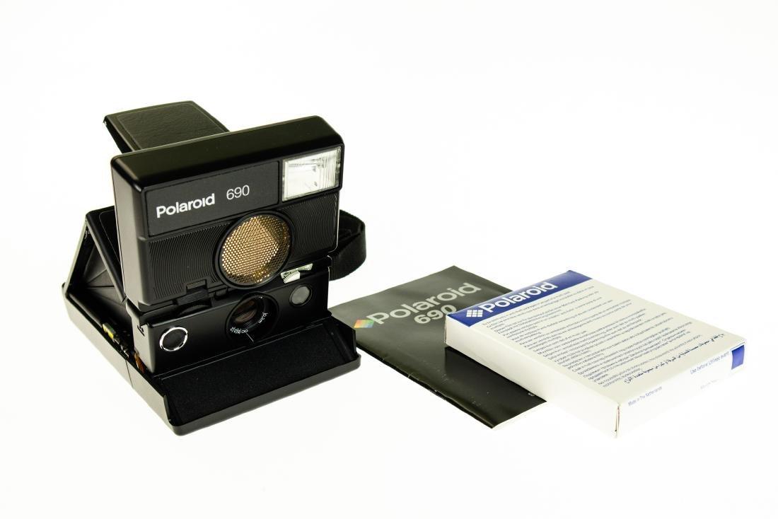 3Pcs Photography Film POLAROID 690 SLR INSTANT CAMERA