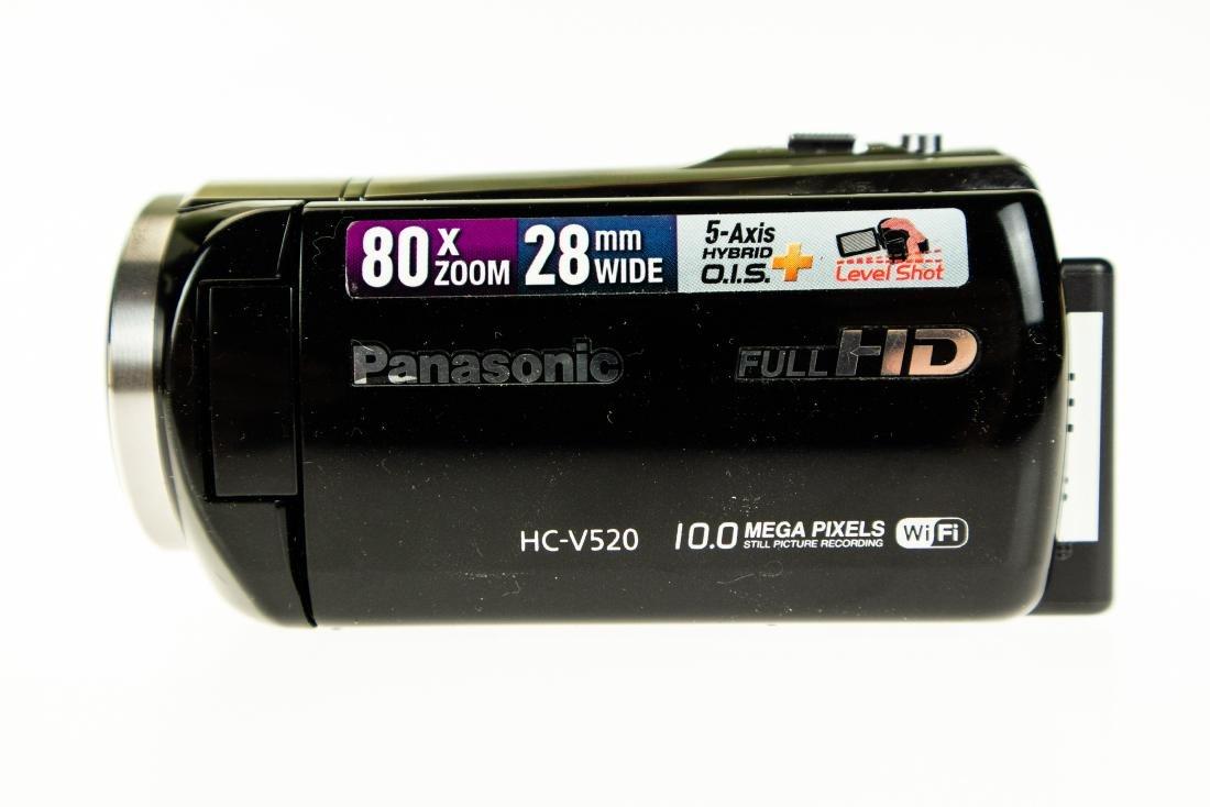 LCD Touchscreen Monitor PANASONIC HC-V520 FULL HD - 4
