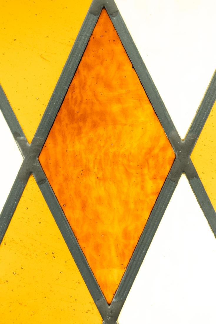 2Pcs Window Hangings HANDMADE LEADED STAINED-GLASS - 5