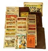 Large Collection VINTAGE & ANTIQUE COMICS & JUVENILE