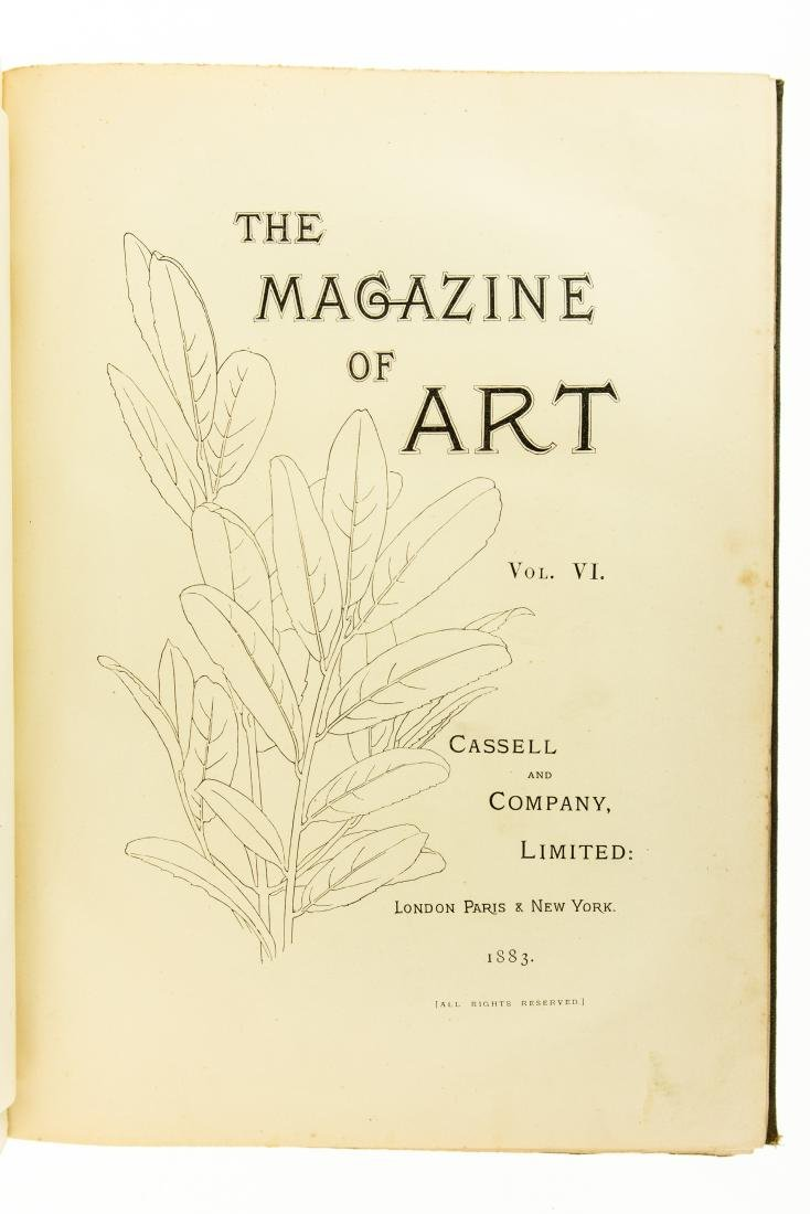 2V Collectible Antique Journal THE MAGAZINE OF ART - 2
